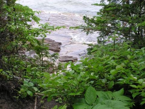 Lake Superior trail to Au Sable