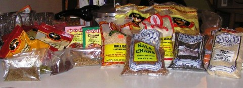 my Indian grocery spree