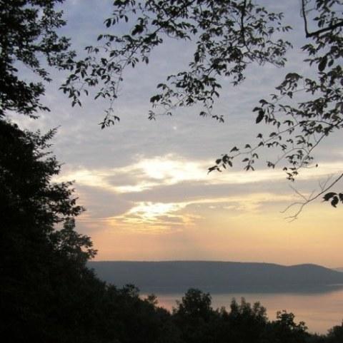 Sunrise Over Glen Lake