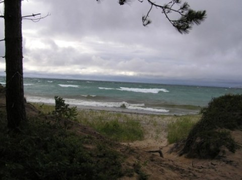 Stormy Day on Lake Superior