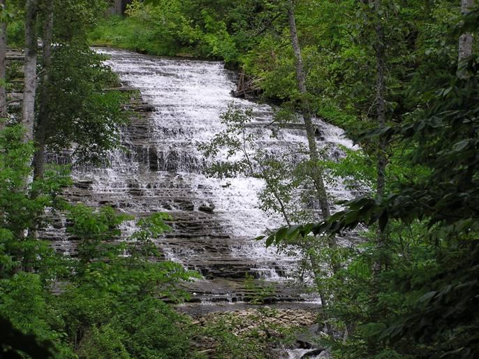 michigan upper peninsula waterfalls - photo #15