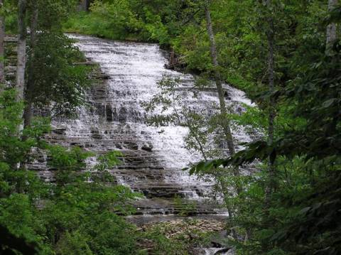 Au Train Upper Falls