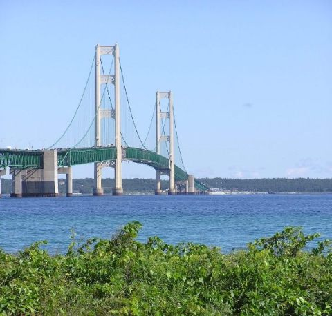 Mighty Mackinac Bridge