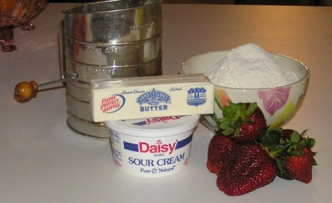 Strawberry Shortcake Ingredients