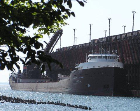 classic ore boat