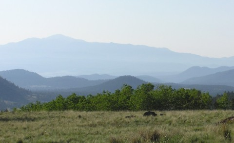 pikes peak from wilkerson pass