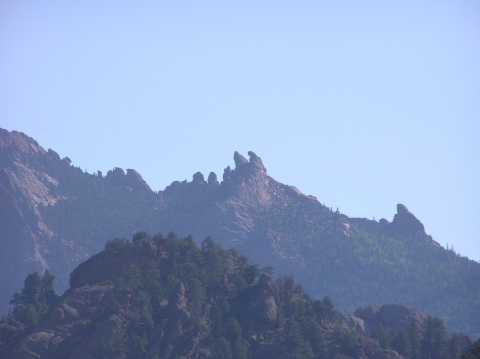 twin eagles rock formation