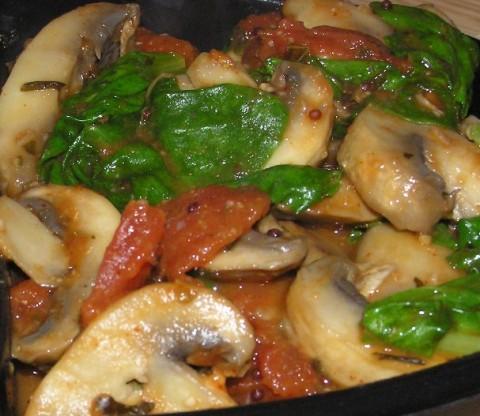 methi mushrooms