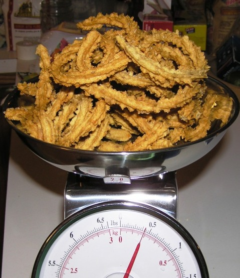 murukulu - half a pound!