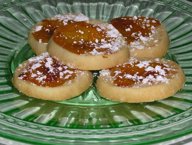Apricot Thumbprint Cookies | Out Of The Garden