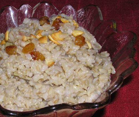 brown basmati ghee rice