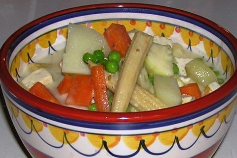 tofu greencurry