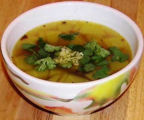 ginger rasam withdosakai