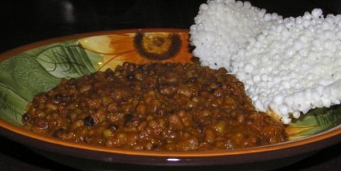 baked dal