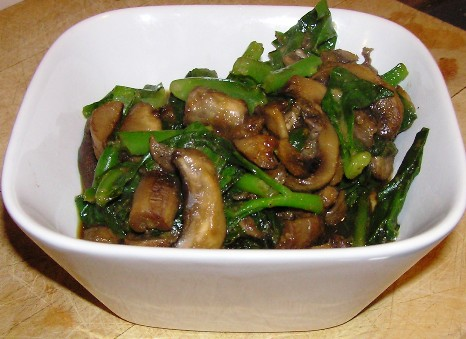 mong toi with mushrooms