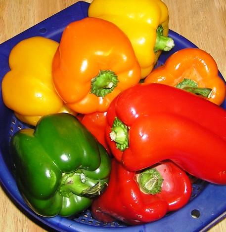 beautiful fresh bellpeppers