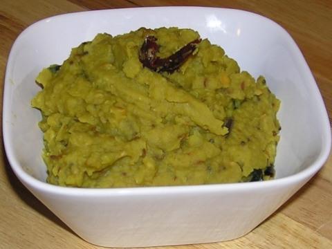 green mango (in brine)dal