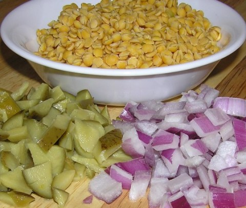 ingredients for a memorable dal!