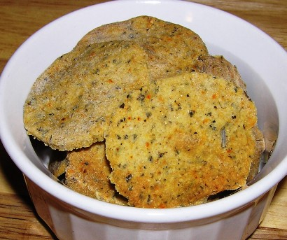 shammi's baked methi biscuits
