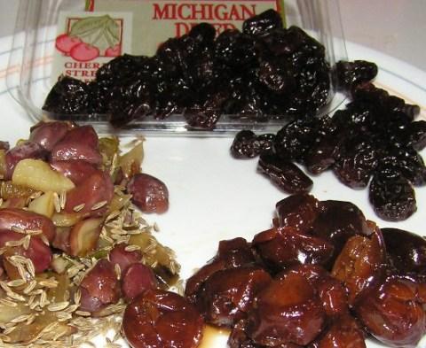 cherry-peanut chutneyingredients