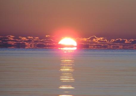 lake huronsunrise