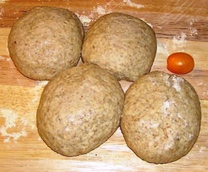 rye rolls risen