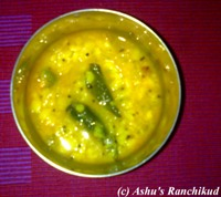 Ashu and Hubby's Daily Dal