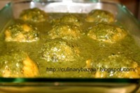 Dhivya's Toor Dal Koftas in Spinach Sauce