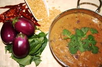 Gayathri's EggplantRasavangy