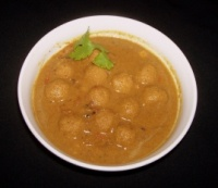 Indian Recipes' Paruppu Urundai Kuzhambu