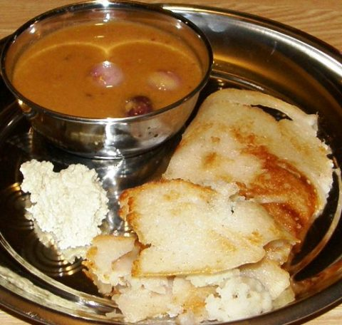 shilpa\'s beNNe dosa and sides