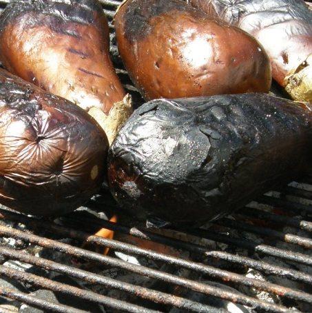 roastingeggplants