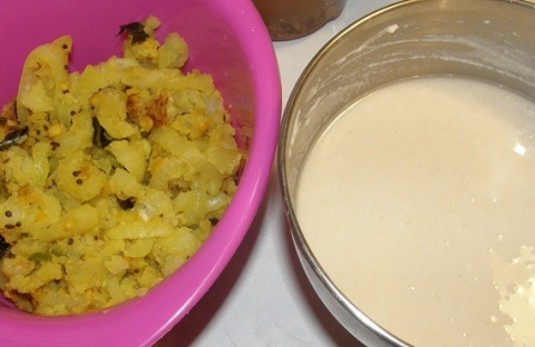 potato masala for dosai