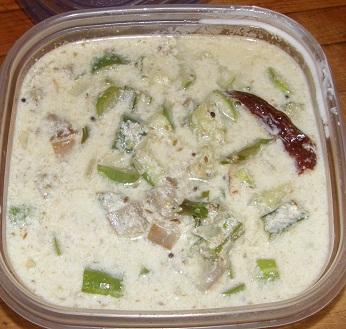 isg's cucumber pachadi