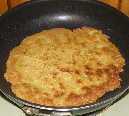 thick cucumber pancake
