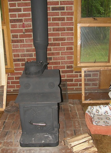 the all-nighter wood stove