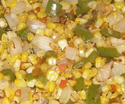 pan-roasted veggies