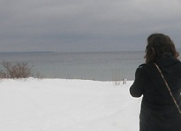 meg in the leelanau peninsula