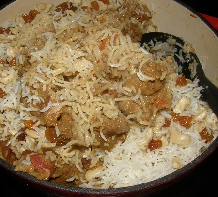 biryani is done!