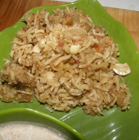 biryani from a mix